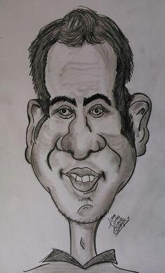 Me gusta demasiado esta caricatura que hice