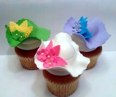 Derby Hat Cupcakes! cupcakes by dusty