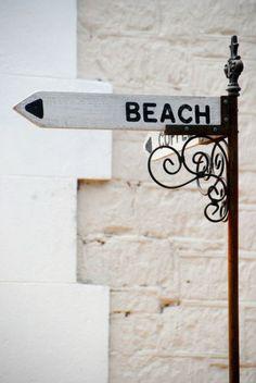 outdoor beach signs and decor Beach Day, Summer Beach, Summer Vibes, Baby Beach, Summer Feeling, Plum Pretty Sugar, Beach Signs, Beach Cottages, Summer Of Love