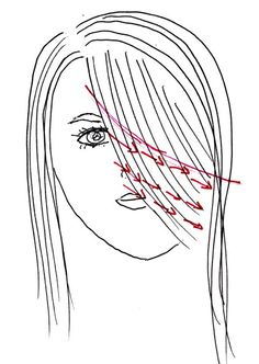How to cut your bangs!