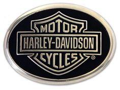 Harley-Davidson® Mens Classic B Belt Buckle. M10069