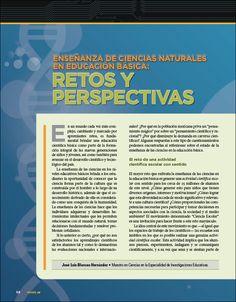 Enseñanza de Ciencias Naturales en educación básica: retos y perspectivas