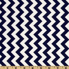 Riley Blake Chevron Small Navy ($8.98) ❤ liked on Polyvore