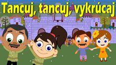 1. Tancuj, tancuj, vykrúcaj, vykrúcaj, len mi piecku nezrúcaj, nezrúcaj! Dobrá piecka na zimu, na zimu, nemá každý perinu, perinu. (vocalization) 2. Stojí vo... Kids Songs, Karaoke, Sunday School, Diy And Crafts, Preschool, Family Guy, Youtube, European Countries, Czech Republic