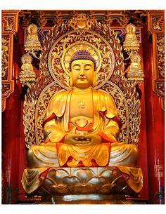 Sublime Eightfold Way. Proto Buddhism - The Original Teachings of the Buddha By Venerable Dr. Bodh Gaya, Peaceful Words, Guan Yu, Buddha Decor, Deities, Mystic, Meditation, Spirituality, Statue