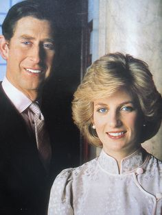 """Charles & Diana were exactly the same height -- 5'10"""" -- so he was put on a box, I guess."""