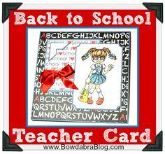 Back-to-School: Teacher's Card