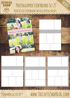 The CoffeeShop Blog: CoffeeShop Photographer Storyboard Set 25!