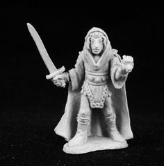 Ral Partha - AD&D 2nd Edition - 3stage-329a - Elf Fighter/Mage
