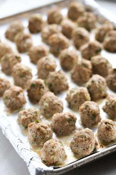Juicy All Purpose Turkey Meatballs. These are the best turkey meatballs, they come out juicy and flavorful every time! Add them to pasta sauces, meatball subs or enjoy them as an appetizer with sweet & sour sauce.