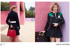 See Léa Seydoux's first Louis Vuitton campaign.