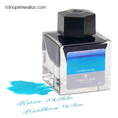 Caran d'Ache Fountain Pen Ink- Caribbean Sea