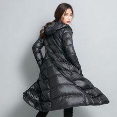 Женские новые с капюшоном длина до колена легкий вес пуховик зима траншея теплый Z1996 | Одежда, обувь и аксессуары, Одежда для женщин, Пальто и куртки | eBay!