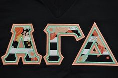 Ready to Ship Greek Letter Shirt