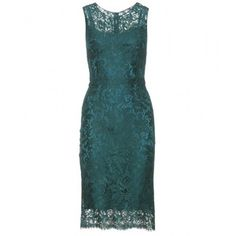 Dolce & Gabbana Dress With Lace Overlay