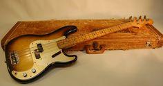 The Fender Precision Bass Guitar