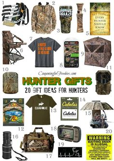 Great xmas gifts for hunters