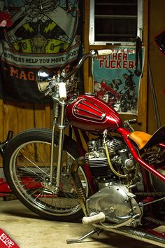 ChopCult - Bike Feature: Red Army Red Article and photos by. Triumph Chopper, Triumph Motorcycles, Custom Motorcycles, Custom Bikes, Cars And Motorcycles, Triumph T120, Bobber Chopper, Motorcycle Types, Bobber Motorcycle