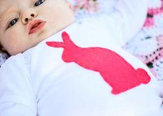 DIY bunny onsie (or shirt, or whatever)
