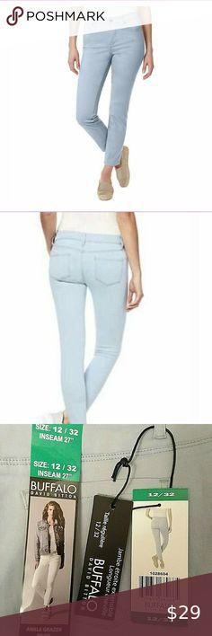 Marks /& Spencer M/&S Blue Denim Cropped Super Skinny Jeans Plus Size 18 20 22 24