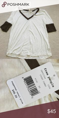 Free people tshirt BNWT! Open to offers Free People Tops Tees - Short Sleeve