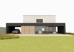 Minimal black poolhouse vs swimming pool. design by kevin mampay