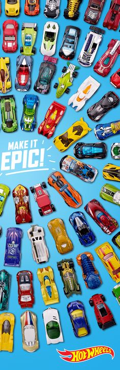Epic is what you make it. Build your one-of-a-kind collection with the newest Hot Wheels today.