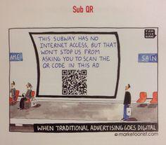 "Thou shalt not abuse or misuse the QR Code! From: Scott Stratten's ""QR Codes Kill Kittens"" #marketing #QR"