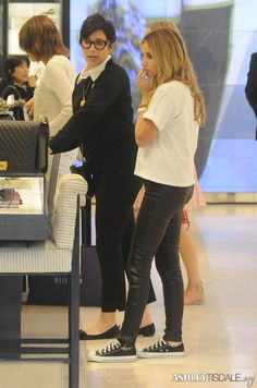 NEW CANDIDS:  Ashley was spotted this Monday (November 17th) shopping at Chanel in Beverly Hills, CA.   THANKS ASHLEYTISDALE.ORG