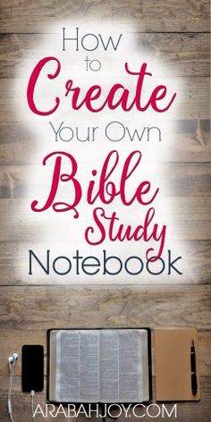 Creating your own Bible study notebook is a great way to help keep your quiet time organized and effective. Learn how to create your own Bible study notebook. #Biblestudynotebook #Biblestudy #quiettime