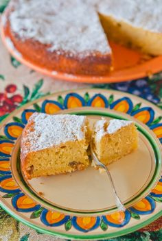 Мягкий апельсиновый пирог / Torta morbida all'arancia   Элла Мартино Рецепты Кулинарные туры Итальянская кухня