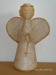 Resultado de imagem para como vestir um anjo de gesso