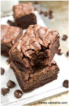 how to make fudgy brownies with crackly tops 2