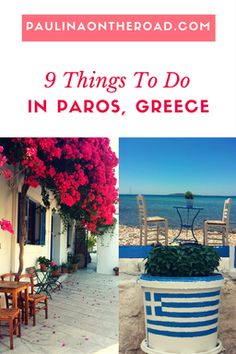 What to do in Paros, Greece? All about food, sports and hiking.