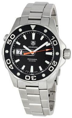TAG Heuer Men's WAJ1110BA0871 Aquaracer Black Dial Watch by TAG Heuer @ TAG-Heuer-Watches .com