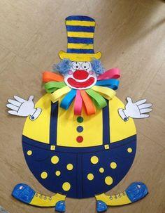 Clown craft idea for kids   funnycrafts