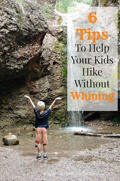 6 Tips to Help Your Kids Hike Without Whining! We really struggled with this for FOREVER but things are finally getting better! mountain hiking, hiking backpack small, hiking in the winter Hiking With Kids, Camping And Hiking, Family Camping, Travel With Kids, Camping Hacks, Camping Essentials, Camping Tarp, Camping Tools, Camping Cooking