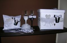 wedding accessories from http://handmadeowo.blogspot.com/2013/10/akcesoria-slubne-wedding-accessories.html