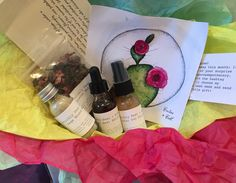 Photo & video unboxing & review. King's Road Apothecary Indie Herbal Subscription Box. August 2015 Cactus & Cool (aka Prickly Pear Rocks!) Crunchy Parent