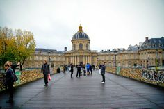PARIS - Pont des Arts - fuievouvoltar.com