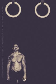Rings  Coach Gabe at Crossfit Athletics MetCon Photos
