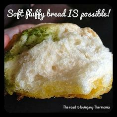The road to loving my Thermomix: Soft bread in the Thermomix is possible! Chef Recipes, Bread Recipes, Sweet Recipes, Cooking Recipes, Recipies, Fluffy Bread Recipe, Thermomix Bread, Bellini Recipe, Paleo Side Dishes
