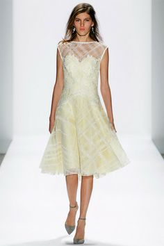 tadashi shoji #12 EMBROIDERED TULLE OVER LACE FULL SKIRT DRESS WITH IVORY REEMBROIDERED FLORAL APPLIQUE DETAIL