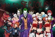 Goku And Chichi, Why So Serious, Batman Beyond, Joker And Harley Quinn, Comics Universe, Bat Family, Gotham City, Marvel Heroes, Dc Comics