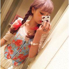 AMO Gyaru, Kawaii Girl, Japanese Fashion, Castles, Personal Style, Angel, Summer Dresses, Cute, Pink
