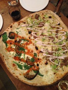 Pizza - Homeslice, Neals Yard, London