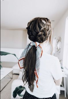 13 The Most Beautiful Double Braid Pictures & Designs Ideas - Easy Hairstyles Box Braids Hairstyles, Pretty Hairstyles, Hairstyle Ideas, Hairdos, School Hairstyles, Wedding Hairstyles, Perfect Hairstyle, Redhead Hairstyles, Braided Ponytail Hairstyles