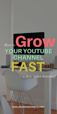 Youre growing, or maybe youre not, but youre growing SLOW and youre wondering how in the world to grow that YouTube channel faster? Grow YouTube Channel quicker than anybody else in your industry - youve got this. #socialmedia #youtube #socialmediamarketing #business #businesstips #marketing #videotips #videomarketing #contentmarketing