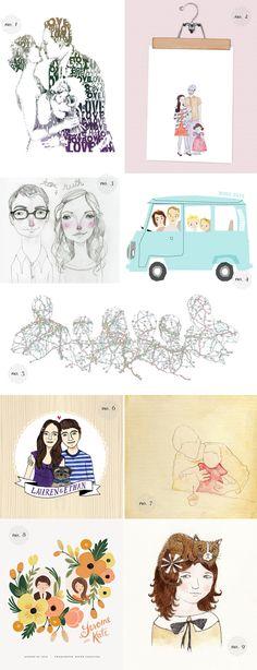 Unique Family Portraits | Dotcoms for Moms