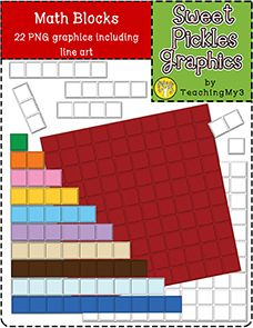 great for making Math U See or Crewton Ramone activities